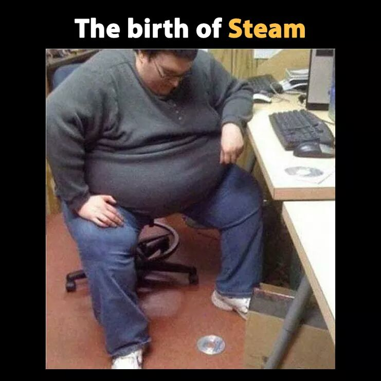 Birth of steam