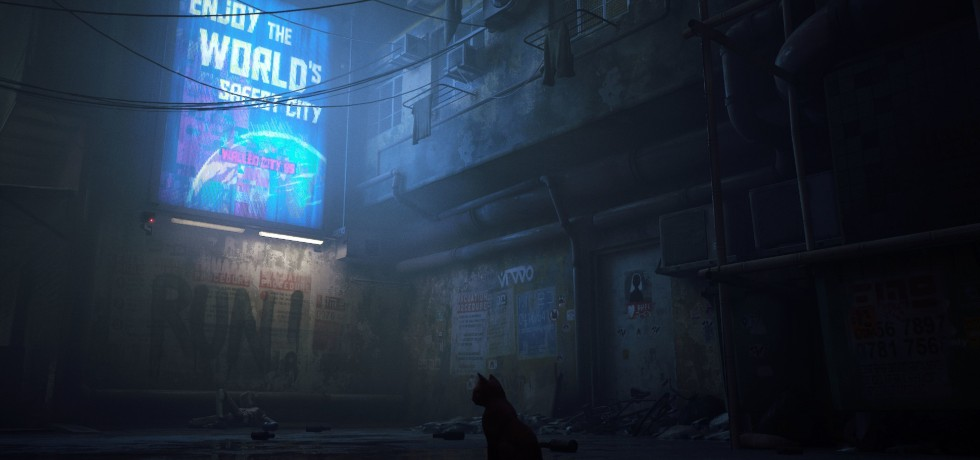 Stray – Teaser Trailer: A Third-Person Cat Adventure Game