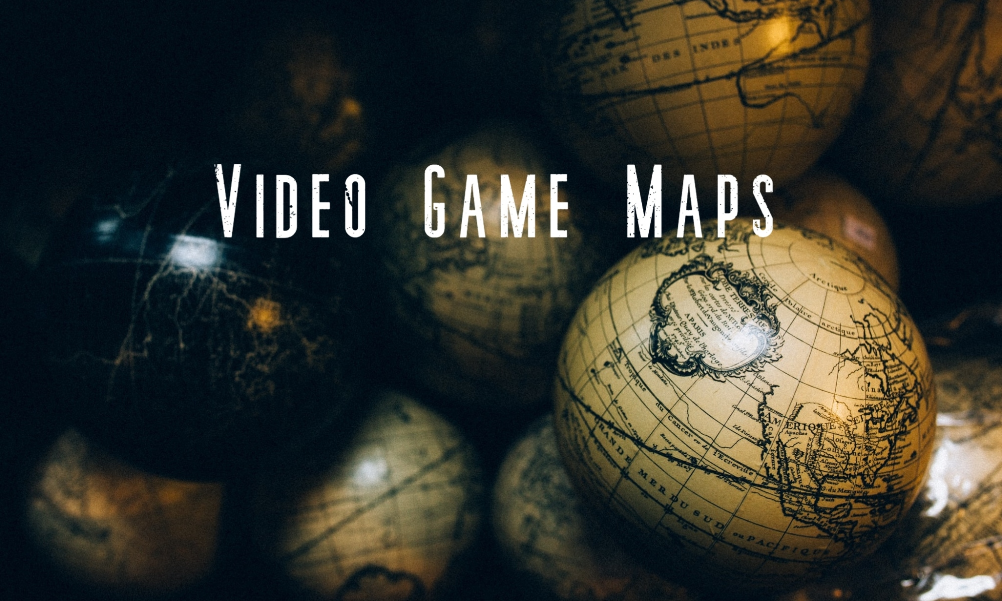 Video Game Map Sizes